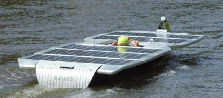 Miljøpris til solcelle-racer